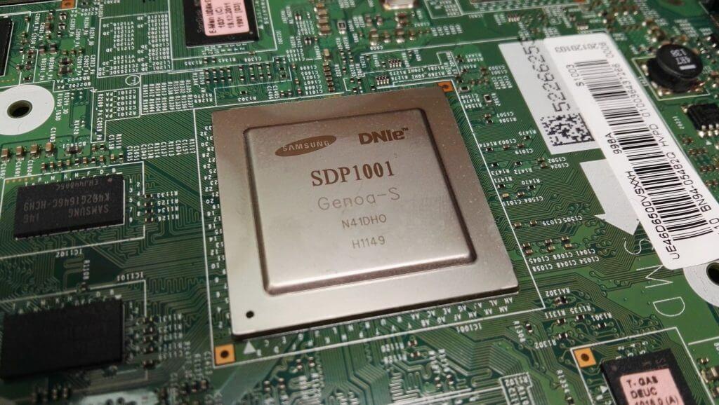 Процессор SDP1001 идет в составе main платы BN41-01587E модели UE46D6500