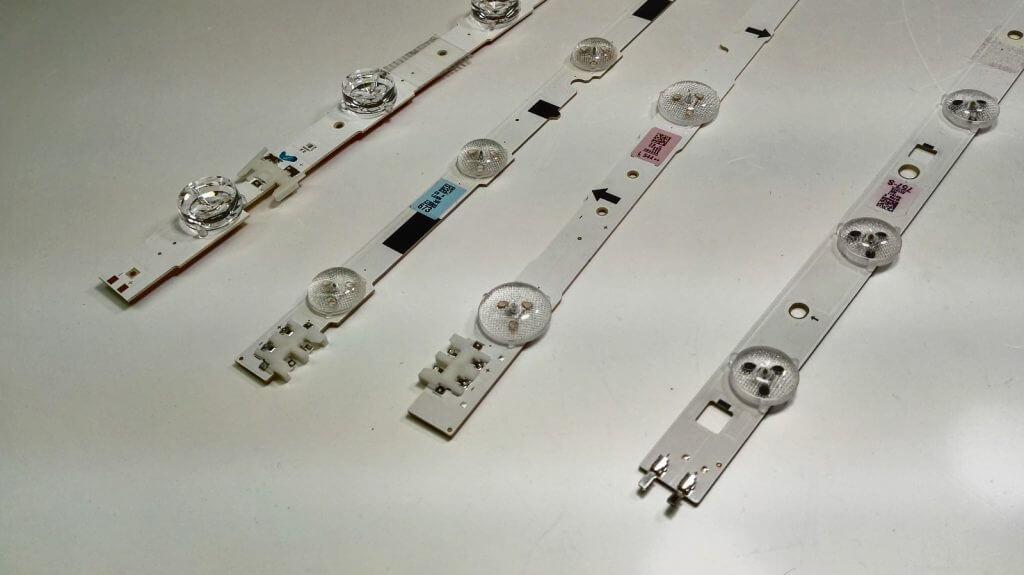 Комплекты светодиодных планок для матриц производства Samsung
