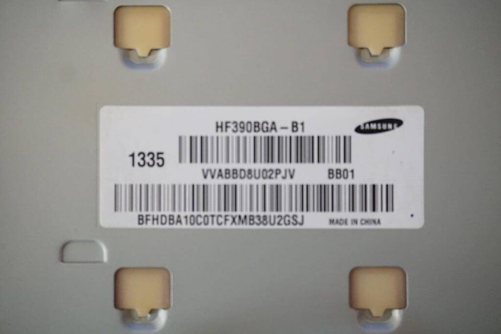 Samsung HF390BGA-B1