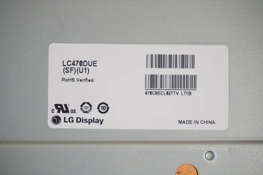 Матрица LC470DUE(SF)(U1).