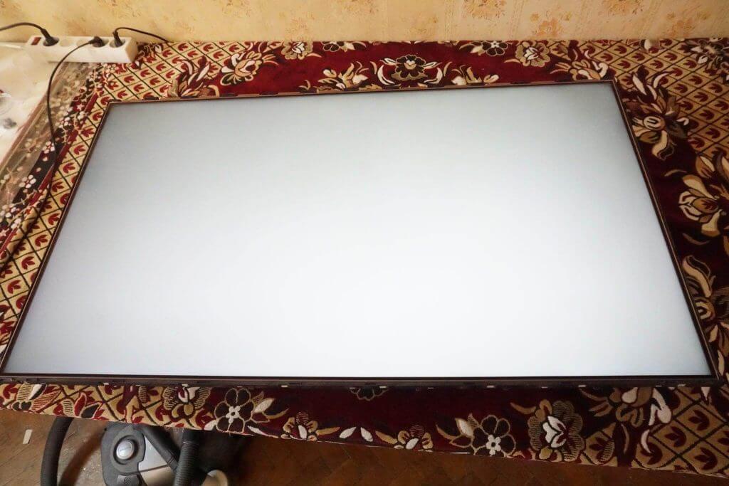 Ремонт подсветки телевизора LG 43UH603V