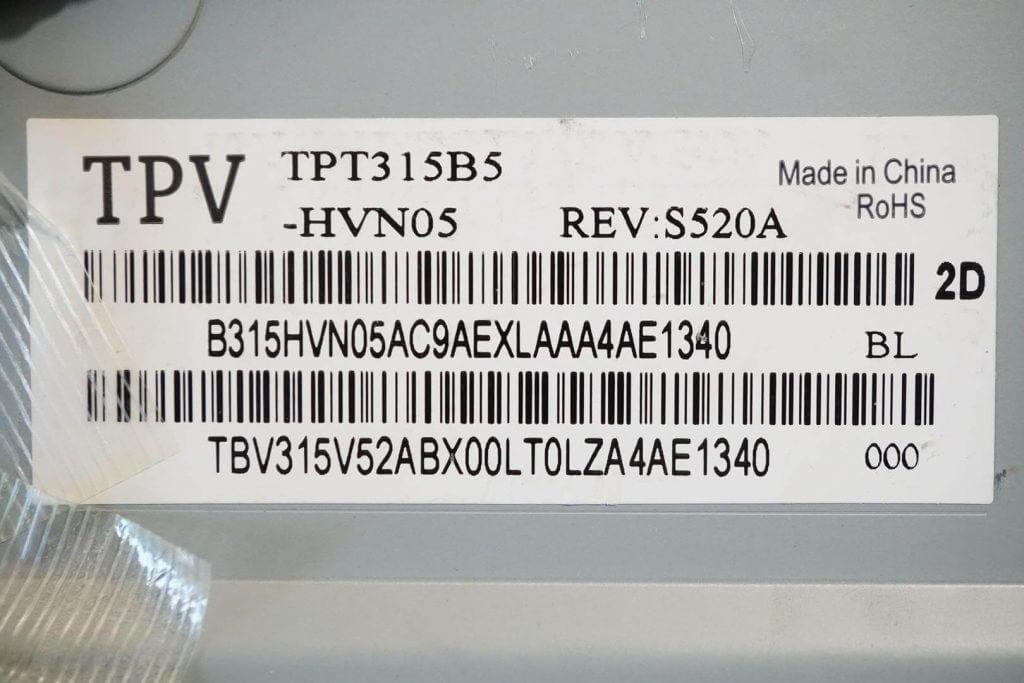 Матрица TPV TPT315B5-HVN05