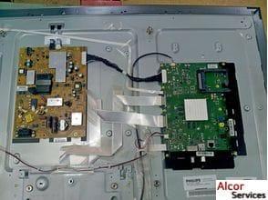 Ремонт телевизора Philips, 60PFL8708S/60, не включается