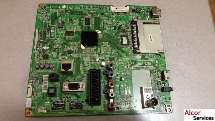 MAIN BOARD (SSB) - EAX64317403 к телевизору LG