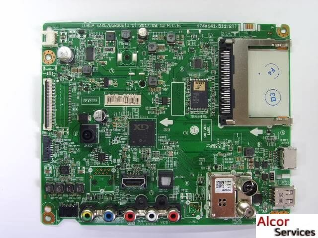 MAIN BOARD (SSB) - EAX6786202 (1.0) к телевизору LG