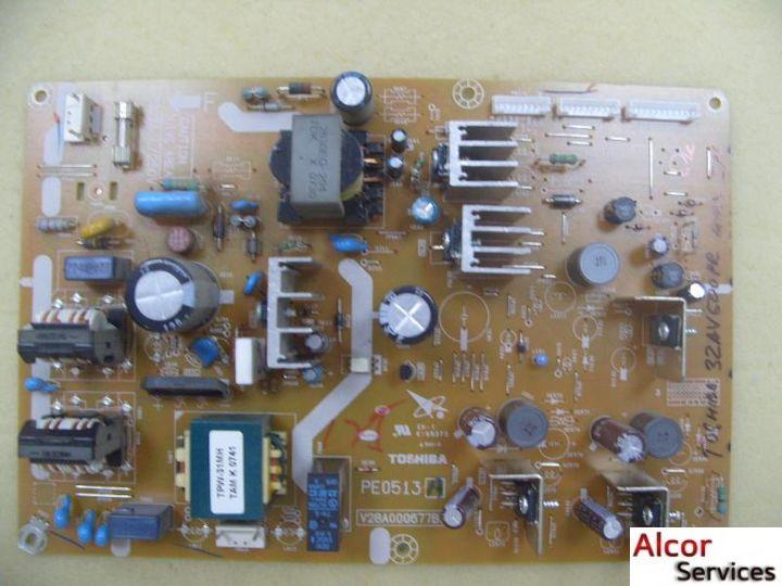 Power Board (Блоки Питания) - 32AV500PR Блок питания к телевизору Toshiba