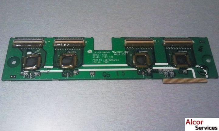 Y-scan ( Su-Board ) - 6870QDE010A к телевизору LG