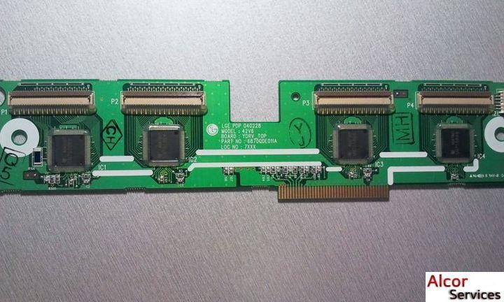 Y-scan ( Su-Board ) - 6870QDE011A к телевизору LG